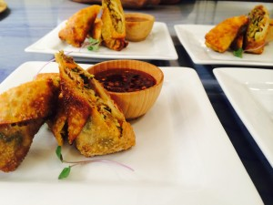 Duck Confit Egg Roll