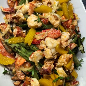 Brown Butter Lobster Salad
